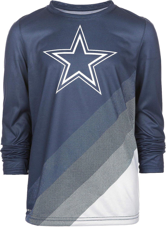 Dallas Cowboys Nike - Camiseta de Manga Larga con Leyenda Juvenil