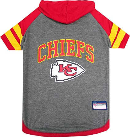 f84507ca NFL HOODIE TEE for DOGS & CATS. | Football Dog Hoody Tee Shirt available in  all 32 NFL Teams! | Cuttest Sports Hooded Pet Shirt! Available in LARGE, ...