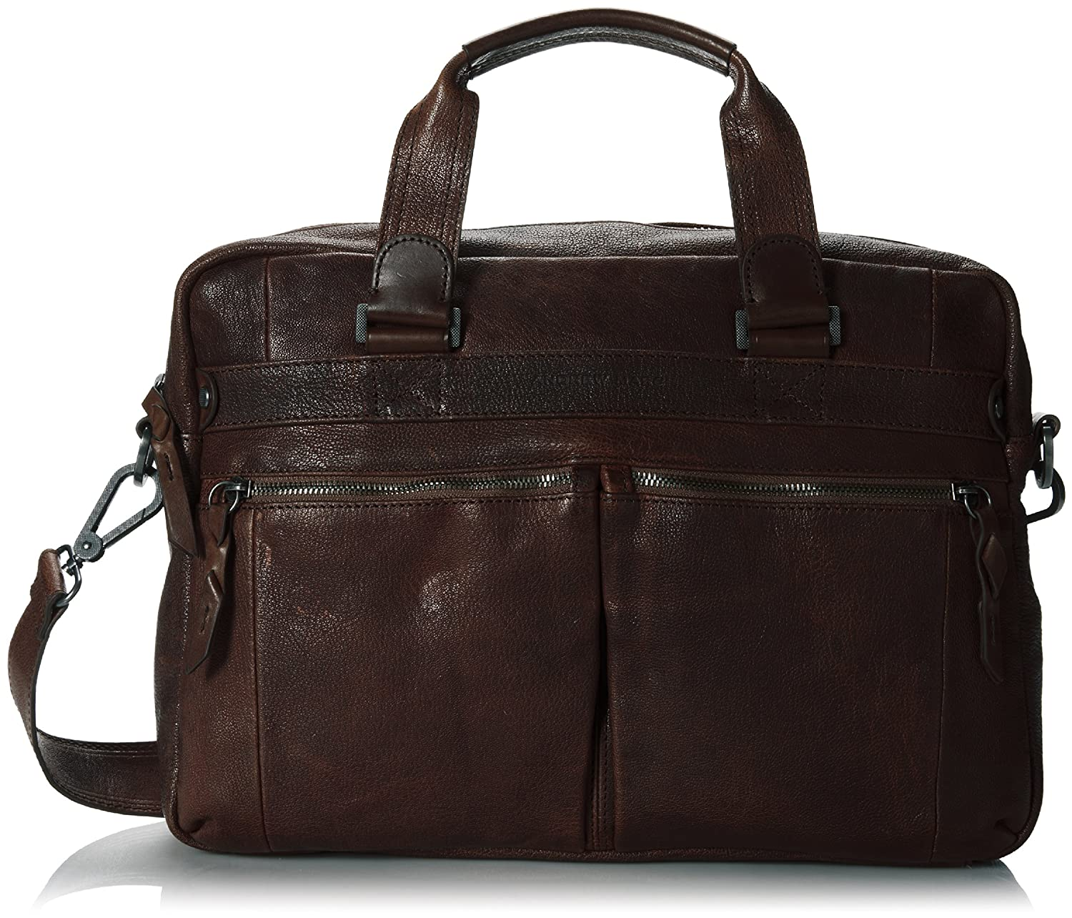 Image of Luggage Andrew Marc Men's Bowery Top Handle Brief