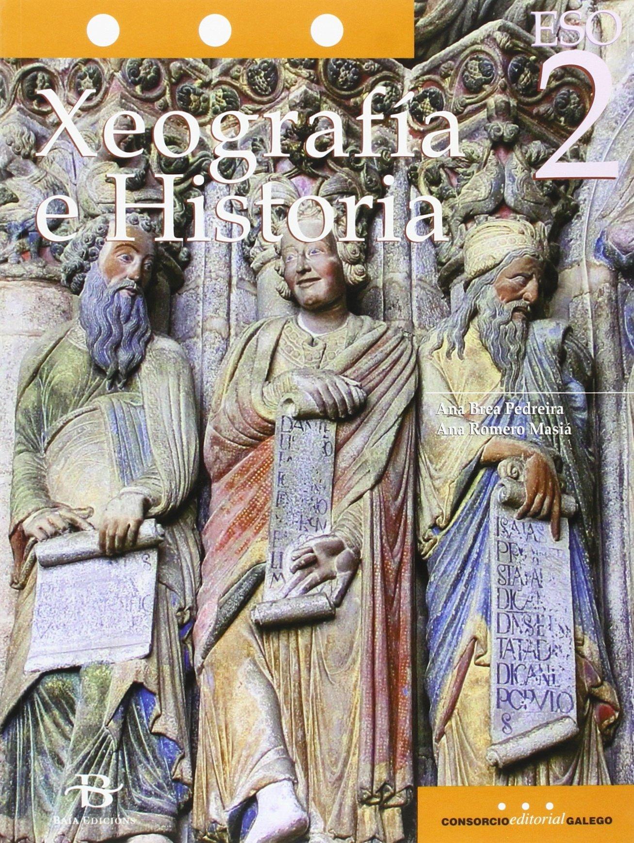 Xeografía e Historia 2º ESO LOMCE (Libro de texto): Amazon.es: Ana ...
