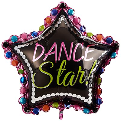 "Anagram International 3083301 Dance Star Shop Balloon Pack, 30"": Kitchen & Dining"