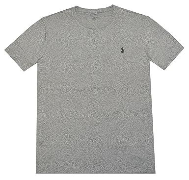 Polo Ralph Lauren para Hombre Cuello Redondo Firma Polo - Gris ...