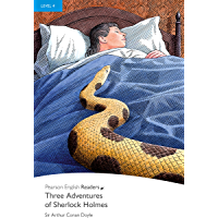 Level 4: Three Adventures of Sherlock Holmes (Pearson English Graded Readers)
