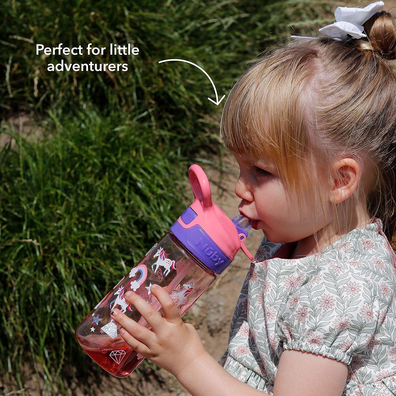 Nuby Gourde pour enfant sans BPA Motif requin