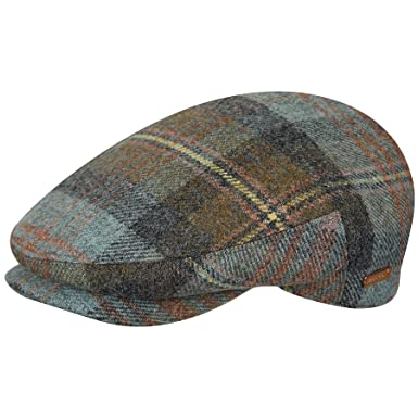 c159af27178293 Kangol Flat Cap British peebles Marlow Check - Made In England S (55cm)