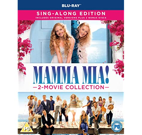Mamma Mia Here We Go Again 4k Blu Ray Region Free Amazon