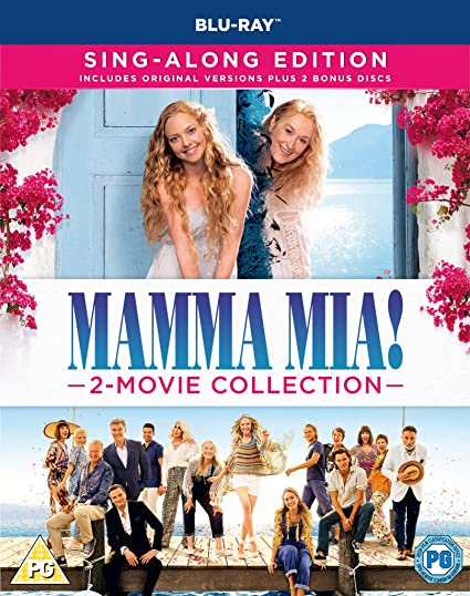 Mamma Mia 2-Movie: Collection 2 Blu-Ray Edizione: Regno Unito ...