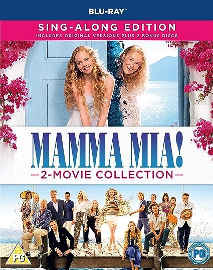 Mamma Mia 2-Movie: Collection 2 Blu-Ray Edizione: Regno Unito ...