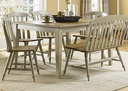 Nice Liberty Furniture 541 T4074 Al Fresco Dining Rectangular Leg Table,  40u0026quot; X 74u0026quot