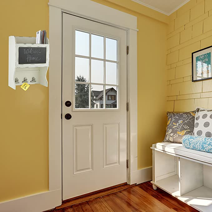 Amazon.com: Decor Works - Wood Wall Chalkboard With Three Clips And ...