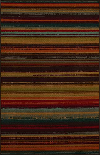 Mohawk Home Avenue Stripes Indoor Outdoor Printed Area Rug, 7 6×10 , Multicolor