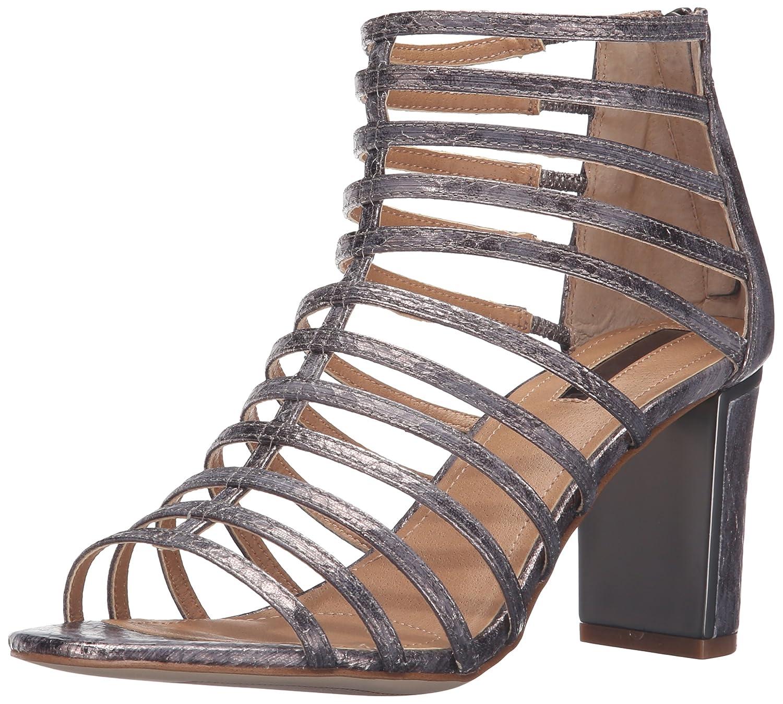 Tahari Women's TA-Arrive Gladiator Sandal B01CUX8FJM 10 B(M) US|Pewter