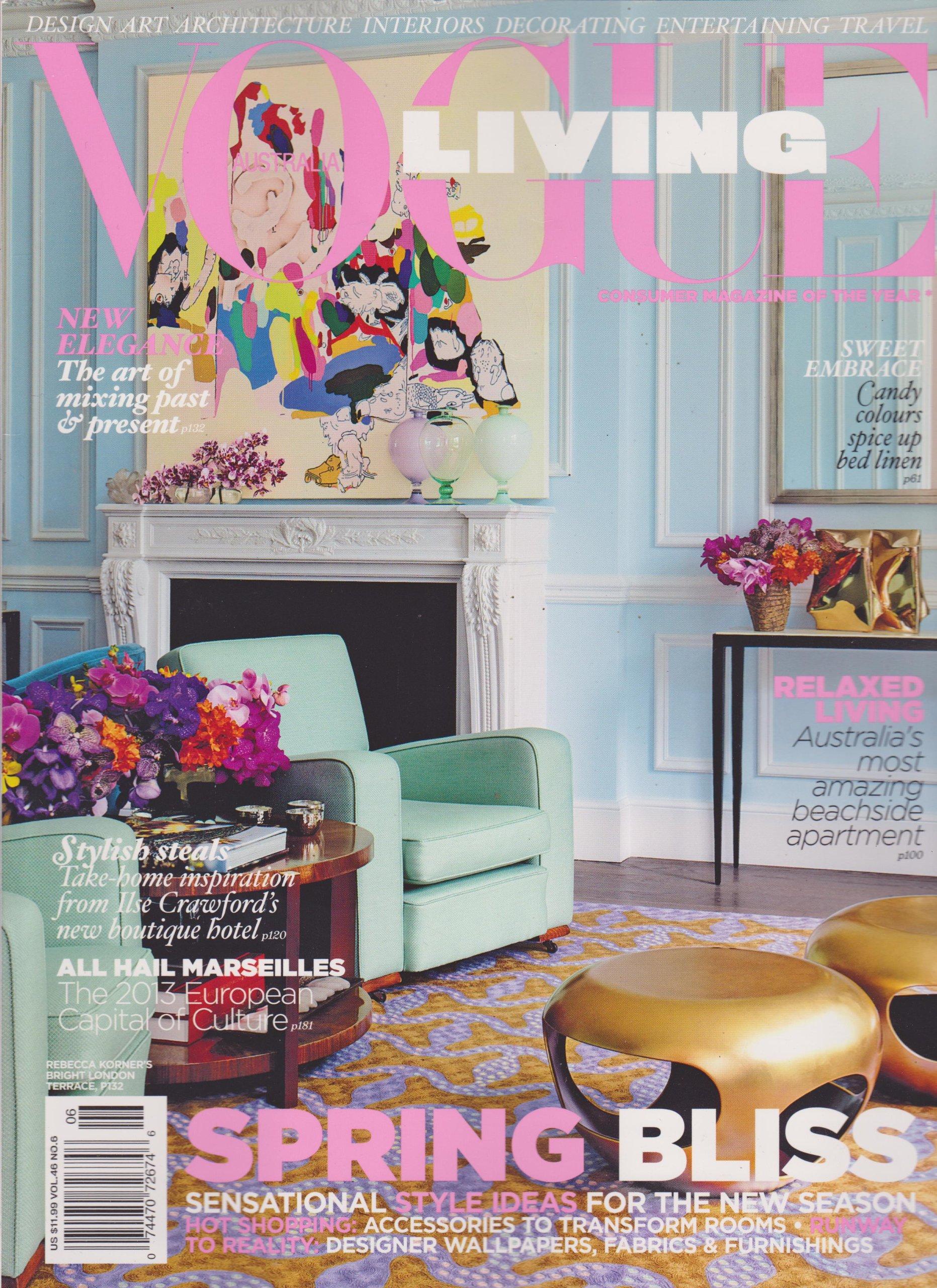 Vogue Living Australia Magazine Volume 46 Number 6 November/December 2012 (Spring Bliss) PDF