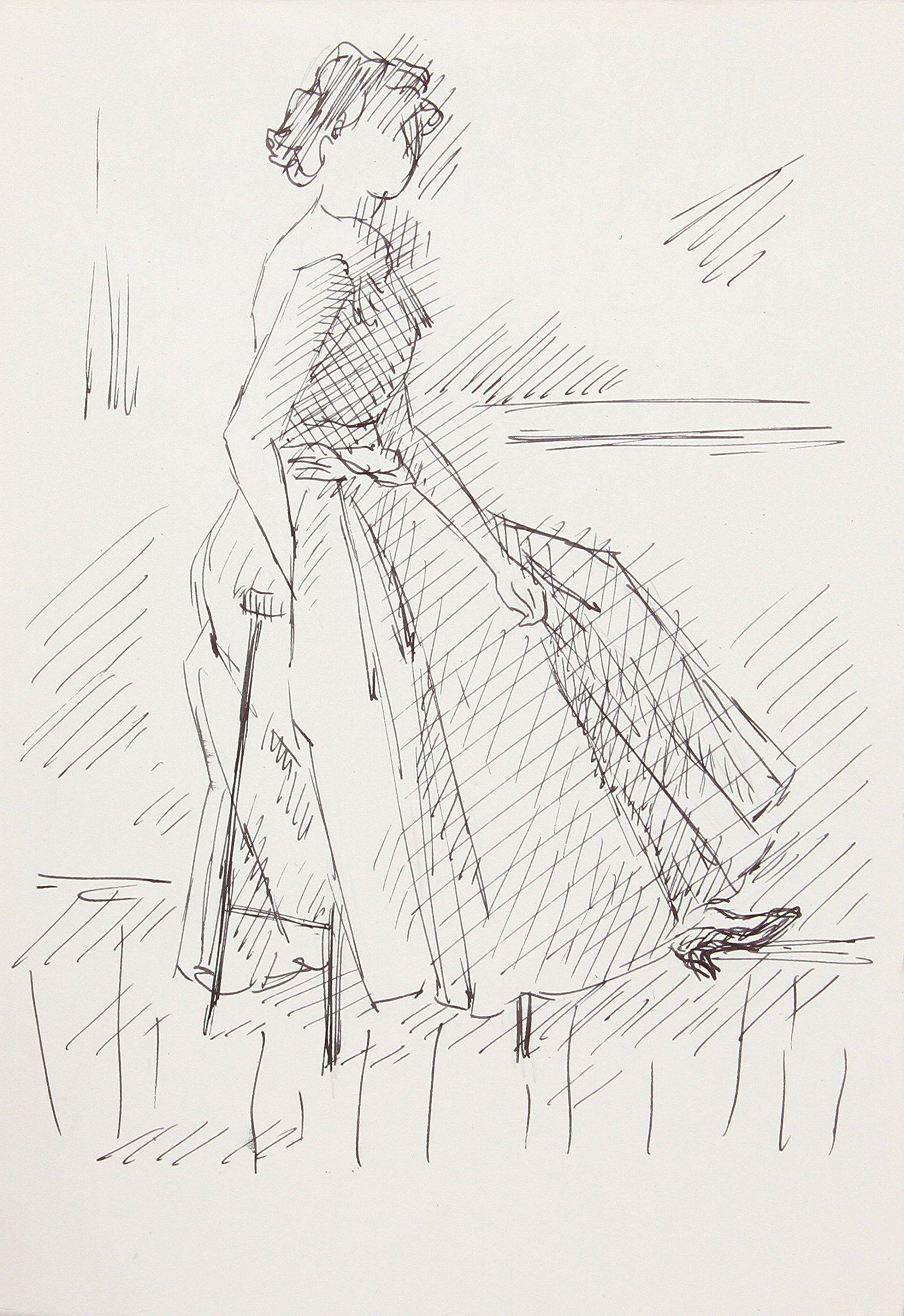 Woman in Dress 124 by