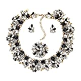 Amazon Price History for:Zhenhui 3 Pieces Bling Crystal Necklace and Earrings Jewelry Set for Women 6 Colors Available