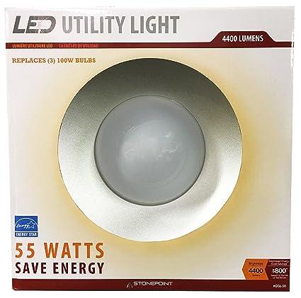 amazon com stonepoint led lighting utility light ggl 50 energy