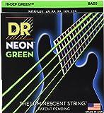 DR Strings NGB5-45  Coated Nickel Bass Guitar Strings, Medium