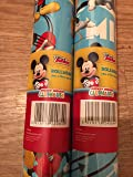 mickey mouse 4 meter wrapping paper gift wrap roll