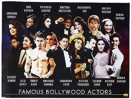 Hindi Entretenimiento Famosos Tri Seven Bollywood Actores Póster kZTPiuXwO