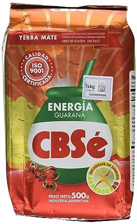 Mate Tee CBSé - Energia 500g - mit Guaraná: Amazon.de: Lebensmittel ...