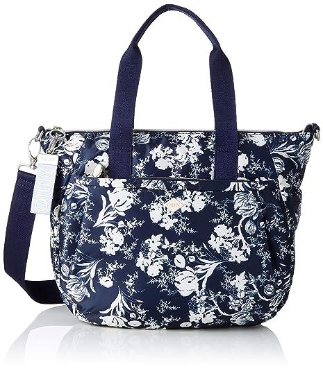 Oilily - Groovy Handbag Mhz, cartera Mujer, Azul (Blau (Dark ...