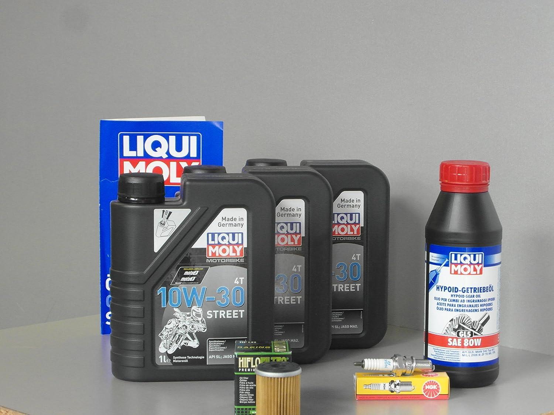 Mantenimiento y Service Set para quad Yamaha YFM 400 Big Bear aceite filtro Bujía: Amazon.es: Coche y moto