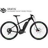 Ghost Teru B7.9 AL Flat // Night Black/urban Gray/neon Green // Modell 2018 // EMTB