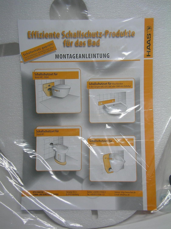 Fliesenschutz Bidet Bidet Schallschutz für WC 5 mm Stand WC