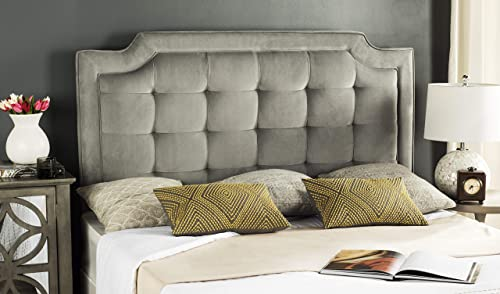 Safavieh Mercer Collection Sapphire Pewter Tufted Headboard