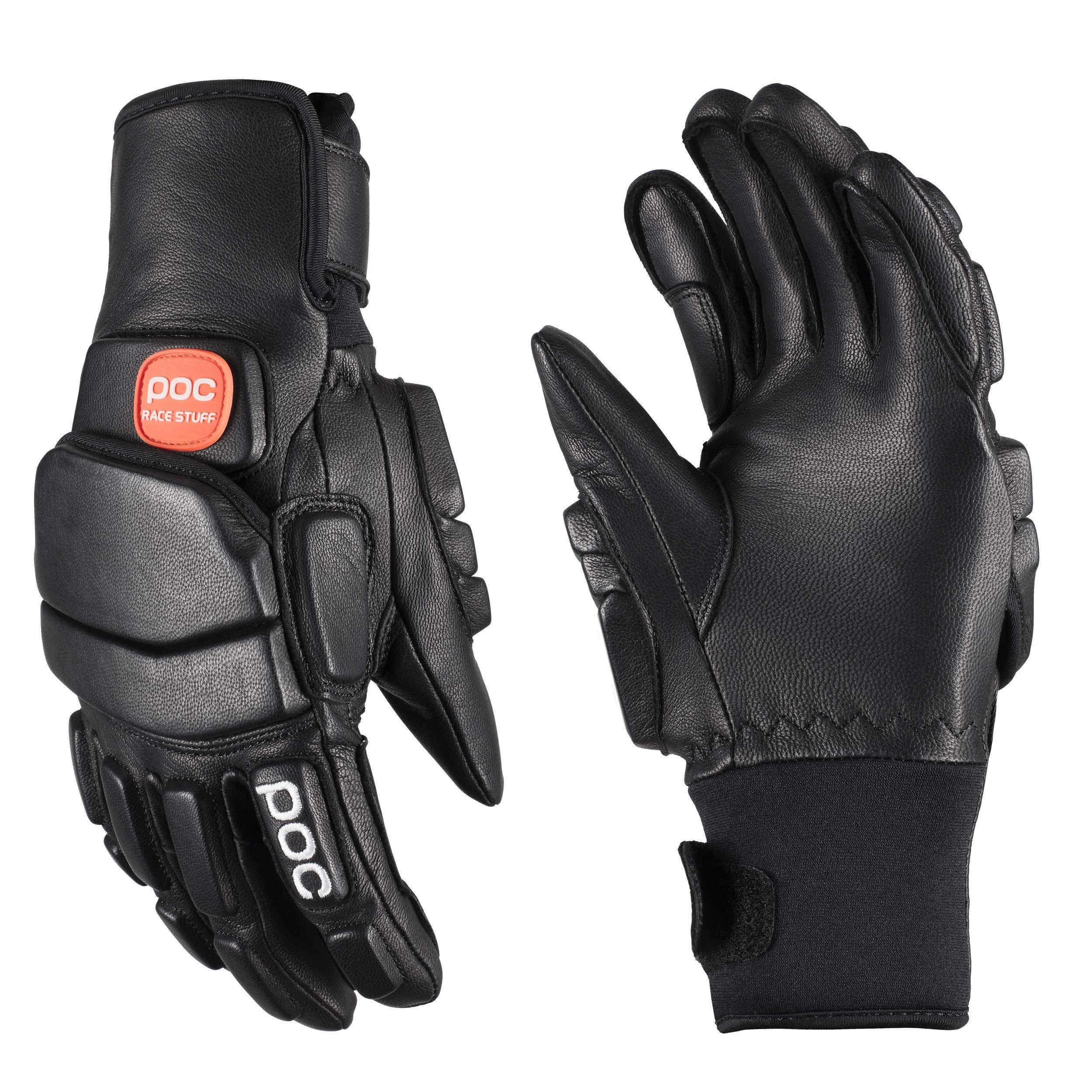 POC Super Palm Comp JR Gloves Uranium Black 10Y