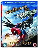 Spider-Man Homecoming [Blu-ray 3D + Comic] [2017]