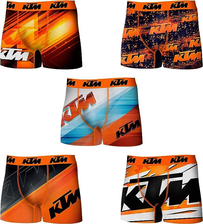 KTM PK1620-X Set 10 Boxer microfibra (92% poliéster-8% elastano) -multicolor, XL para Hombre: Amazon.es: Ropa y accesorios