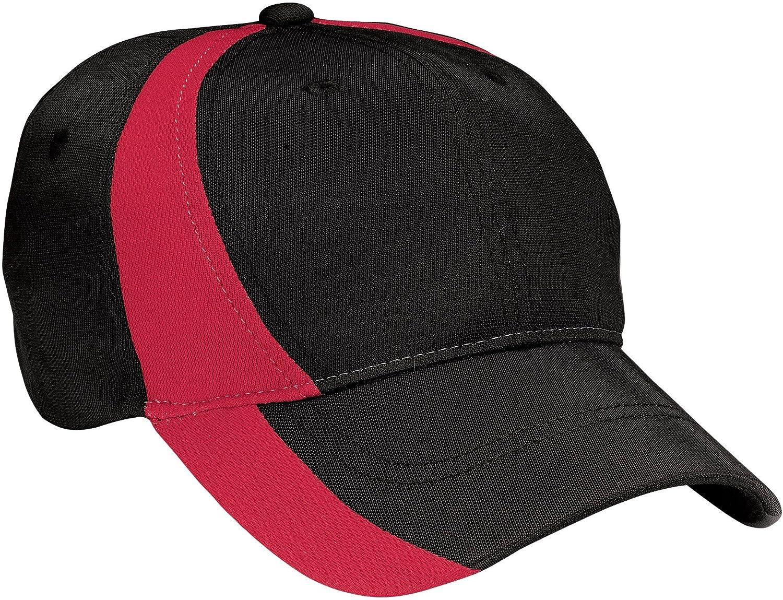 Sport-Tek - Dry Zone Nylon color block - Gorra de béisbol. stc11 ...