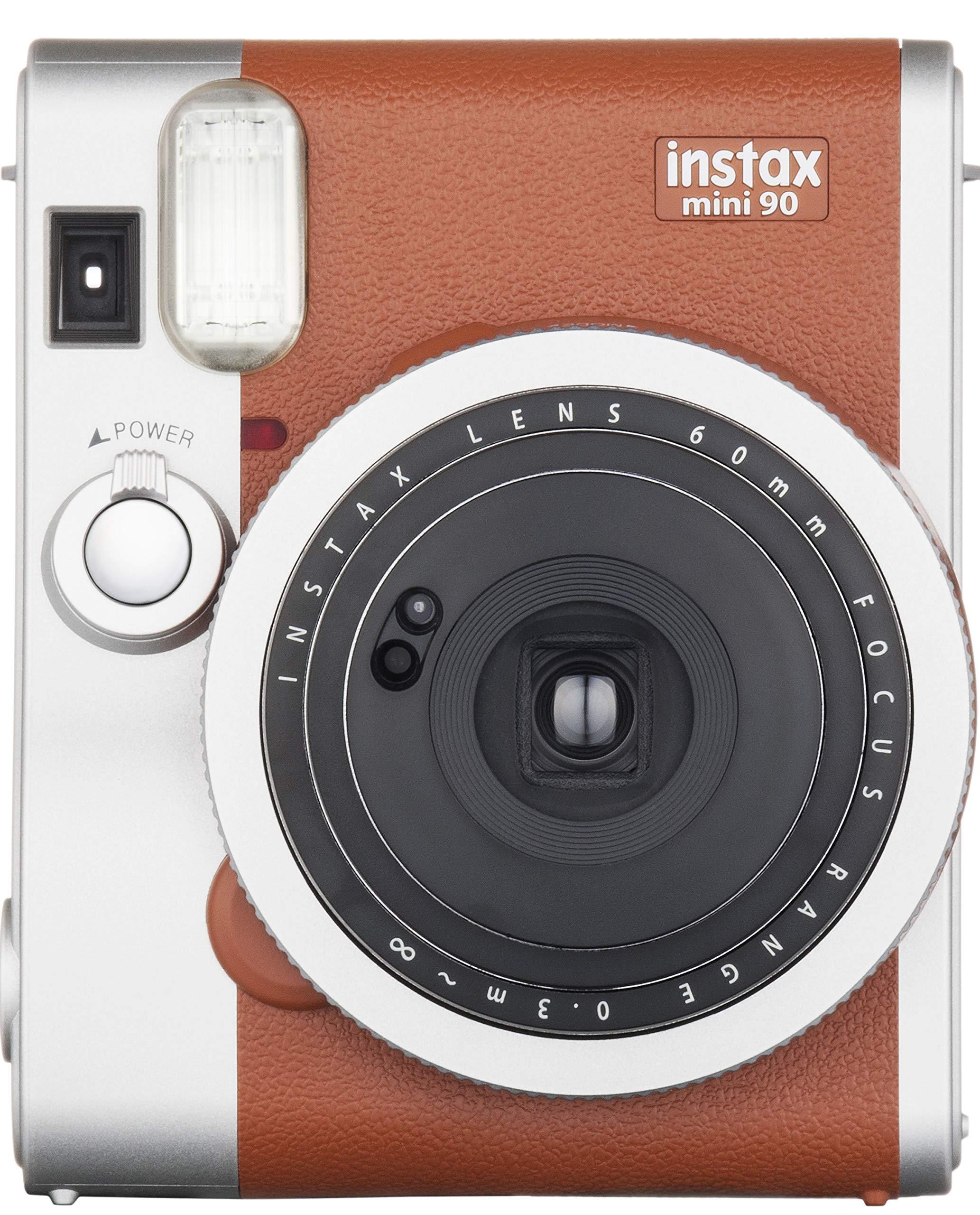 Fujifilm Instax Mini 90 Neo Classic Kamera, Braun Bild