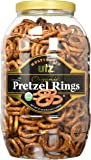 Utz Multigrain Organic Pretzel Rings, 37 oz Barrel
