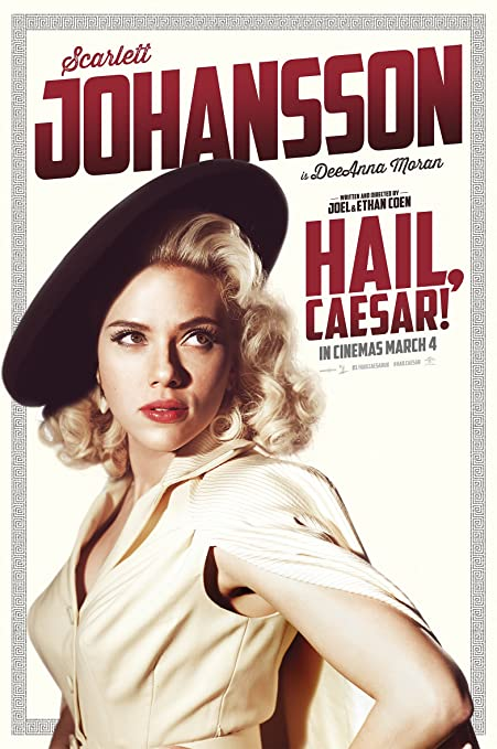 Poster of Hail Caesar 2016 Full Hindi Dual Audio Movie Download BluRay 720p