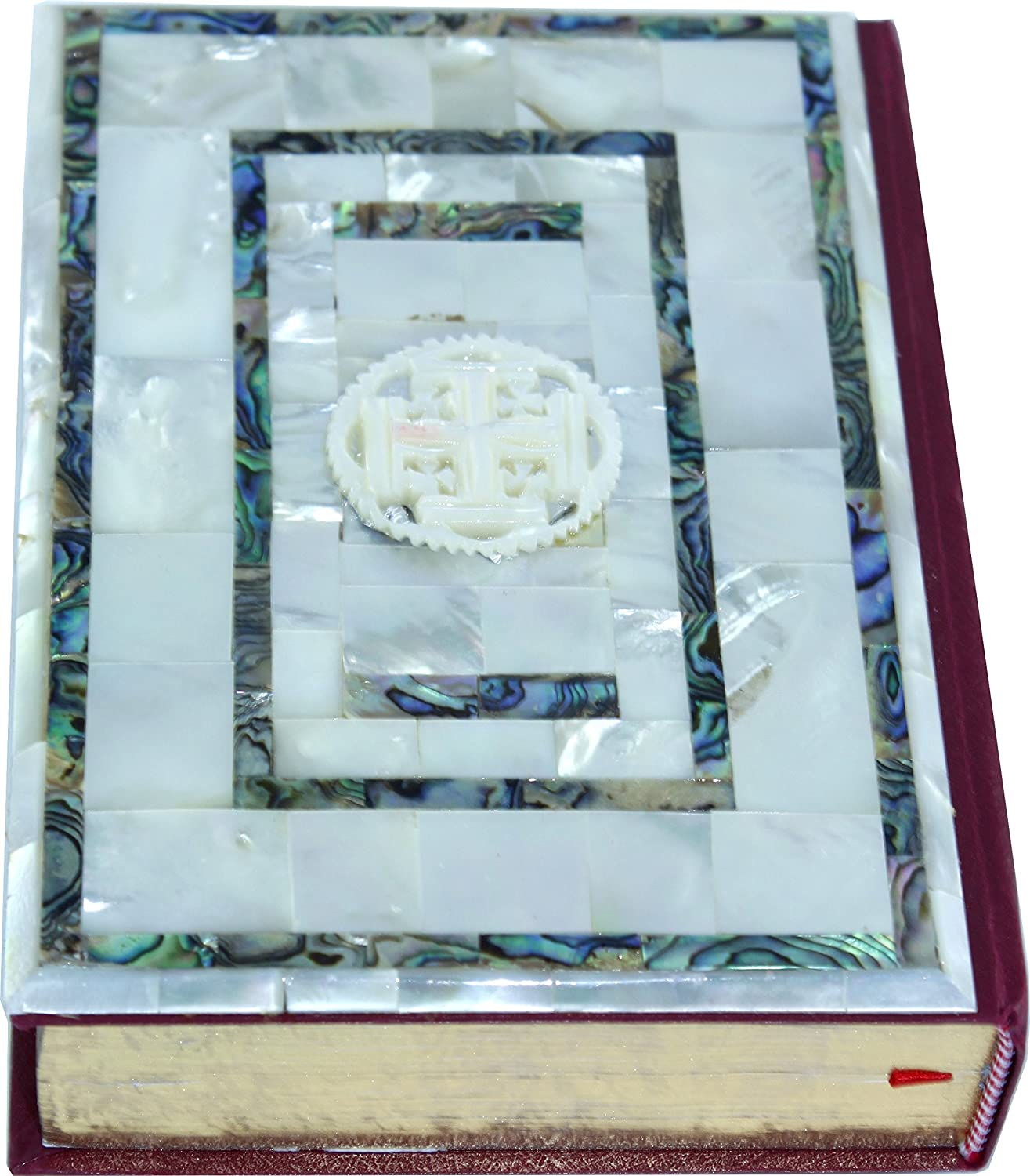 The word of God with Mother of Pearls covers from Jerusalem Catholic edition top quality