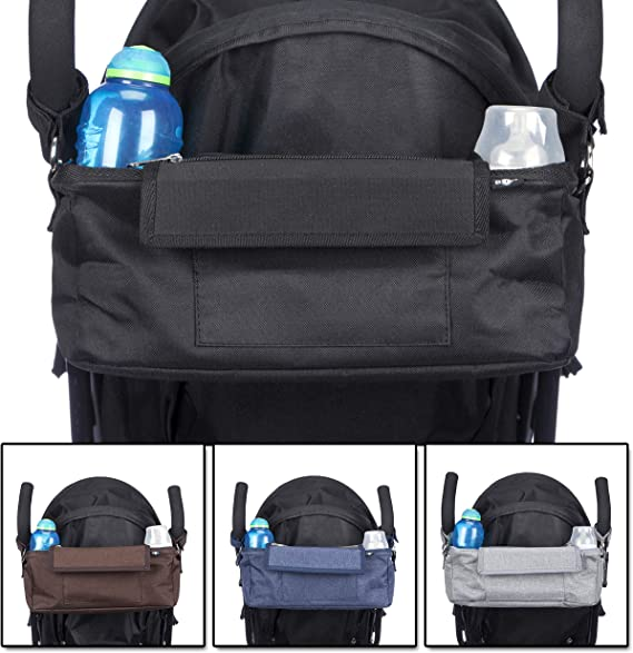BTR Buggy Buddy Bag Makes a Great Baby Gift Or Baby Shower Gift for a New Baby BTR Buggy Organiser Pram Storage Bag with 2 Pram Hooks and 5 External Pockets to Organise All Your Baby Accessories