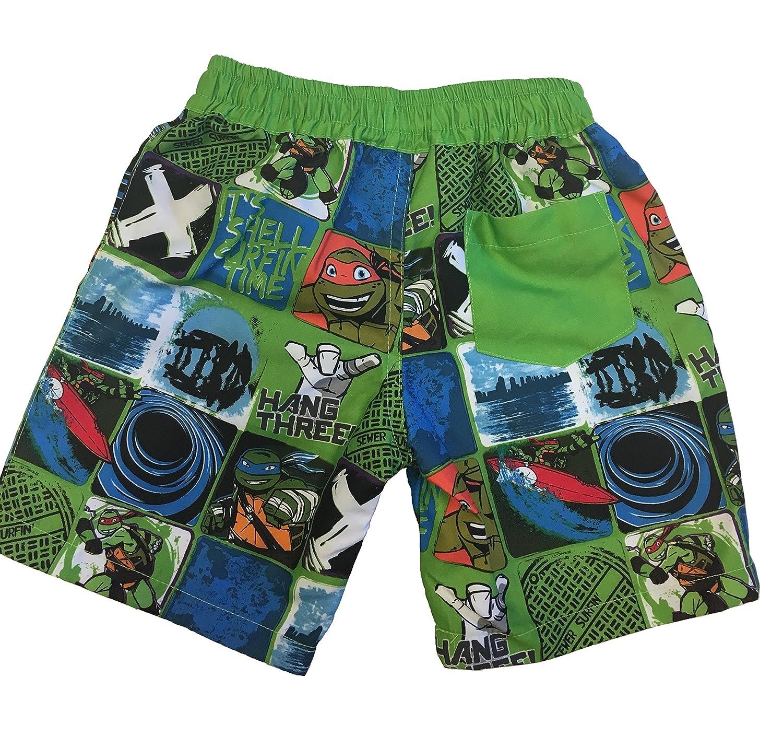 Boys Ninja Turtle Swim Trunks