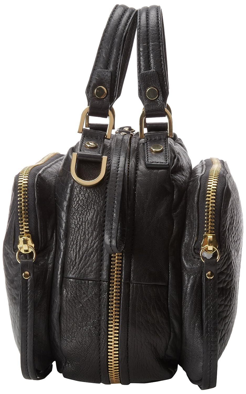Kenneth Cole New York Square Biz Bubble Lamb Top Handle Bag