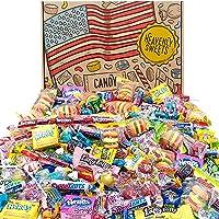 Heavenly Sweets Amerikanskt Godis Kalas Presentbox 120 Bitar! Klassiska Amerikanska Sötsaker- Airheads Laffy-Taffy…