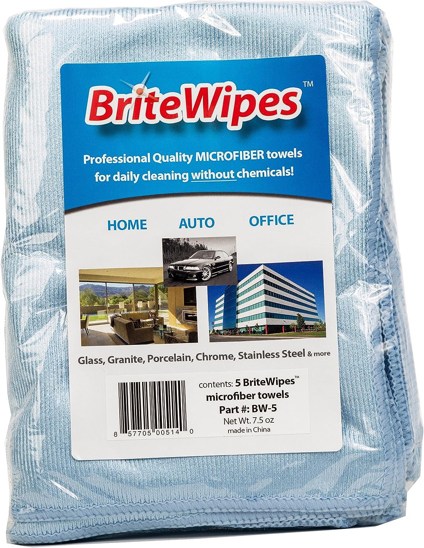 Details about  /Brite /& Clean Britewipes Premium Microfiber Towels 5 Pack Home Kitchen
