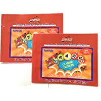 Anspan™ Classic Lotto Housie Tambola Tickets (Set of 600 Tickets) Pink and Blue