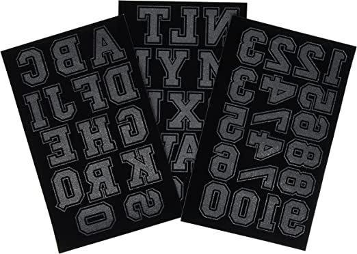 Dritz-Soft Flock Iron-On And Letters Numbers 1,75-Collegiate Royal Blue