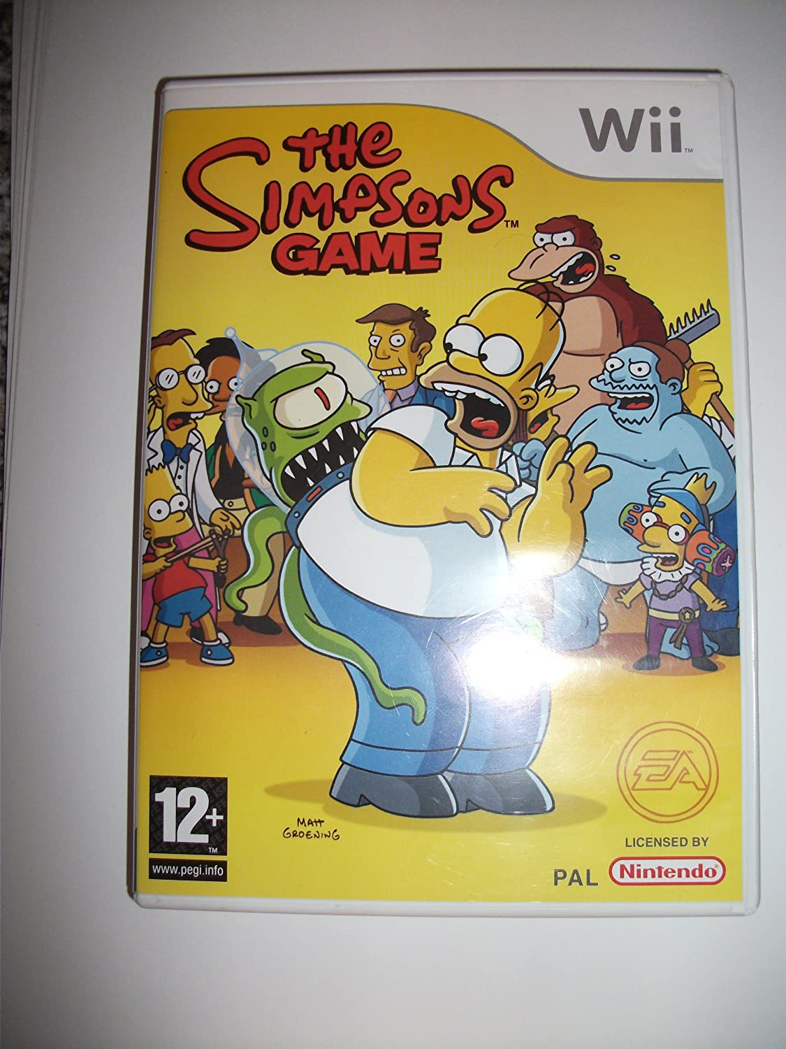 The Simpsons (Wii) [Importación Inglesa]: Amazon.es: Videojuegos