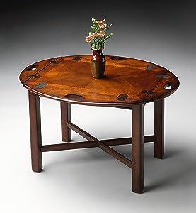 BUTLER CARLISLE PLANTATION CHERRY BUTLER TABLE