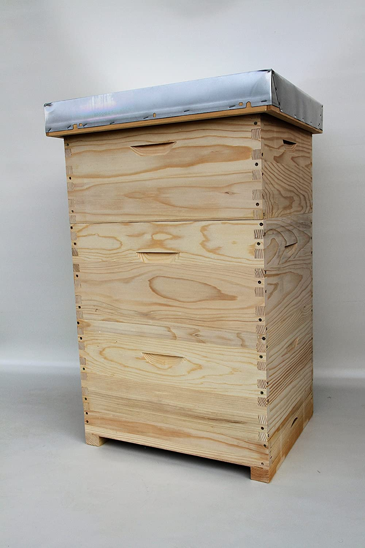 Langstroth ,Beute,Bienenbeute,Bienenkasten mit 30 Rähmchen,gedrahtet- geöst,Imkereibedarf