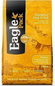Eagle Pack Power Natural Dry Dog Food, Chicken & Pork, 40-Pound Bag