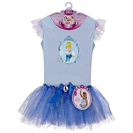 Amazon.com: Big Cenicienta Vestido de Ballet de las niñas ...