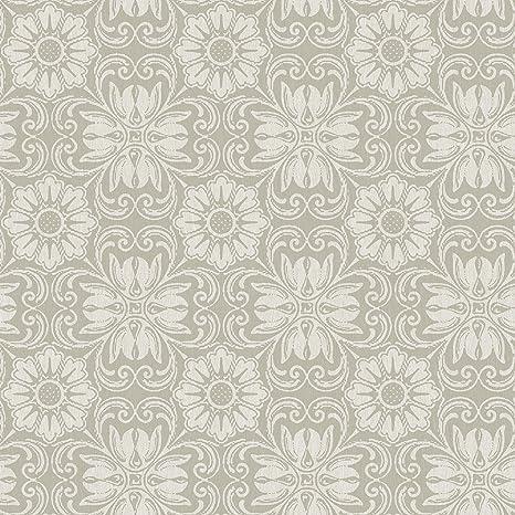 Chesapeake 3112 002746 Hessle Grey Floral Wallpaper